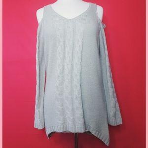 Venus grey sweater dress